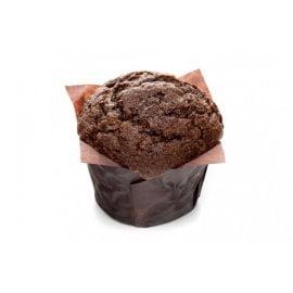 Маффин шоколад-вишня